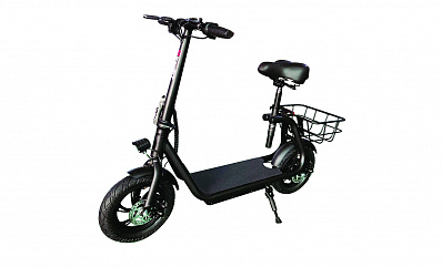 Kick Scooter Trident 120T (Черный)